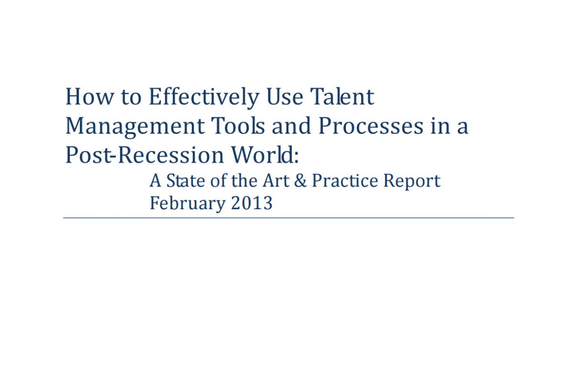 talent management in a recession Key words: human resource management, recession, compensation benchmarking reengineering 1 and talent retention performance management is one of the most vital systems of any organization it enables employees to be self-managed and to understand key roles at lg performance.